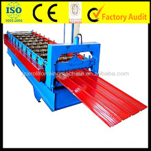 JCX Galvalume Roof Sheet Roll Forming Machine supplier