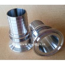 Raccord de serrage de tuyau flexible en acier inoxydable sanitaire
