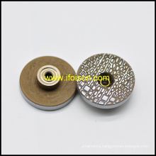 Polyester Jeans Button with Customized Logo