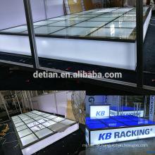 Detian Display Angebot Glasboden, Glas Bühne für Ausstellung Messe