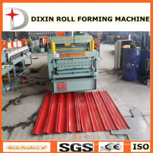 Machine for Metal Sheets for Roofing and Wall