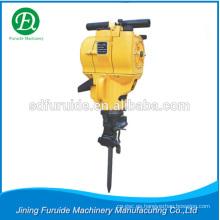 Venta caliente martillo perforador de mano con motor de gasolina para la construcción de carreteras