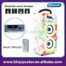 Neuheit Produkte zu verkaufen Musica Micro SD-Karte USB-Funk-Lautsprecher aus Holz