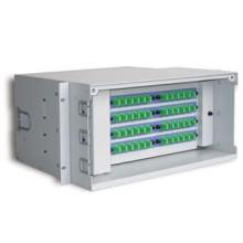 rack mount 19 inch 1u 2u fiber optic distribution box, fiber distribution box patch panel odf 12/24/48/96/144 cores