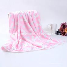 Flanel Velvet Mignonne Couverture de Bébé Blanket Enfants