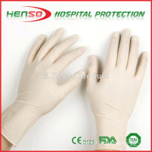 Henso Medical Disposable Pre-Powdered Latex Examination Gloves
