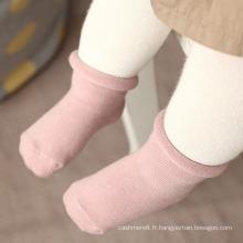 Chaussettes antidérapantes en coton pour enfants (KA028)