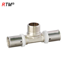 A 17 4 13 tee press fitting press fitting of female tee