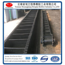 Corrugated Sidewall Rubber Belt Conveying Belt,