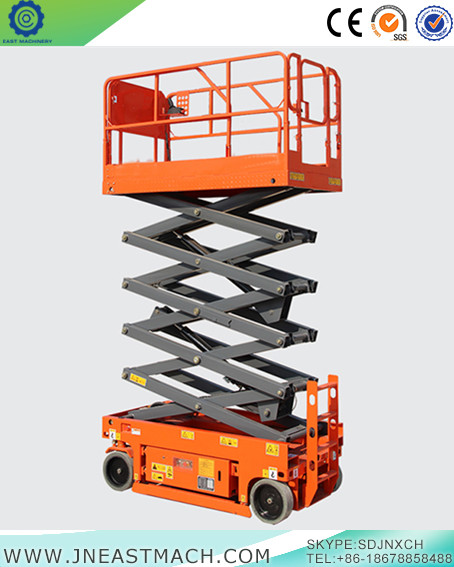 8m Height Hydraulic Drive Self Propelled Scissor Lift