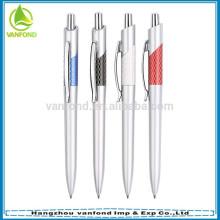 Promotion silver plastic tube executive advertising pen