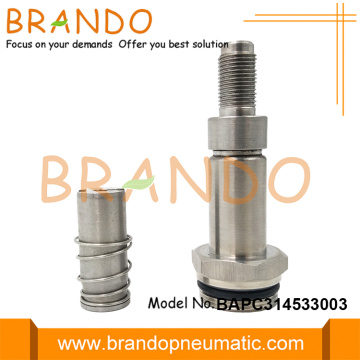 3 Way M20 Thread 14.5mm OD Armature Plunger