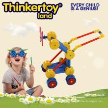 Детская коляска Модель Пластиковый коннектор для строительства Educationtoy Лучший подарок для детей