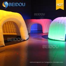 Personalizada LED Bubble Camping partido de la boda de la boda cúpula marquesina carpas Inflable tienda