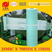 Uso da agricultura filme de estiramento do envoltório do pacote da silagem de 5 camadas