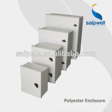 Boîtier de distribution d'armoire électrique en fibre de verre SMC IP65 résistant aux intempéries