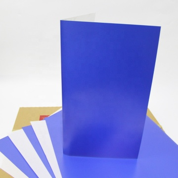 Aluminium-Offsetdruck Violette Photopolymerplatte