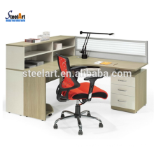 latest design 4 person office workstation partition