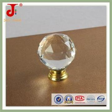 Decorative Crystal Glass Cabinet Knobs and Handles