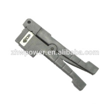Outil de fibre optique IDEAL Décapant de câble coaxial en deux étapes 45-163, décapant de câble IDEAL 45-162, décapant de tube tampon, décapant coaxial
