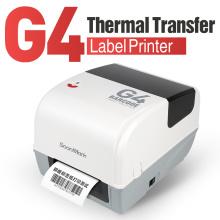 Imprimante de codes à barres d'étiquettes de bijoux à transfert thermique de 4 pouces