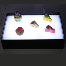 Caixa de exibição de acrílico LED Foods