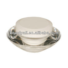 UFO cosmetic packing acrylic cream jar