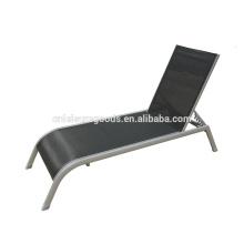 2016 new design outdoor aluminium sling sunbed