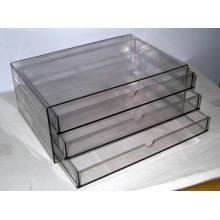 BJ-5951 plastique Transparent 3 couches fichier CAB