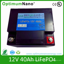 LiFePO4 Battery Pack 12V 40ah Car Battery