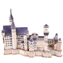 3D Puzzle White Swan Castle Toy