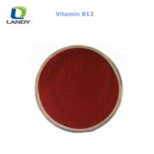 VENDA QUENTE China Melhor Preço Vitamina B12 1% de Alimentação Grau VB12 Cyanocobalamin