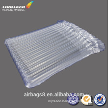 Air column cushion packaging protection for laptops