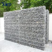 garden fence, welded wire mesh gabion basket gabion wall fencing