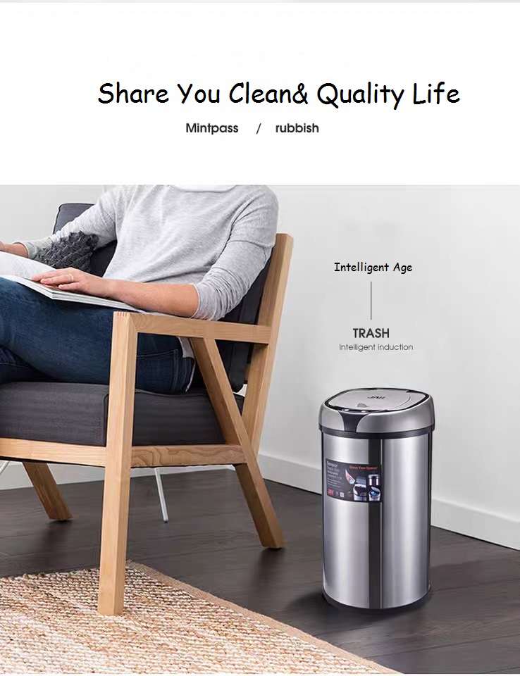 Automatic Smart Sensor Trash Can