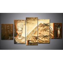 Moderne handgemachte erstaunliche afrikanische Kunst Indische sexy Frauen Malerei für Dekoration (AR-120)