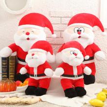 Großhandel niedlich gefüllte Santa Claus gefüllte Spielzeug