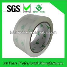 Fita adesiva da embalagem da embalagem de baixo nível de ruído / nenhum ruído de BOPP