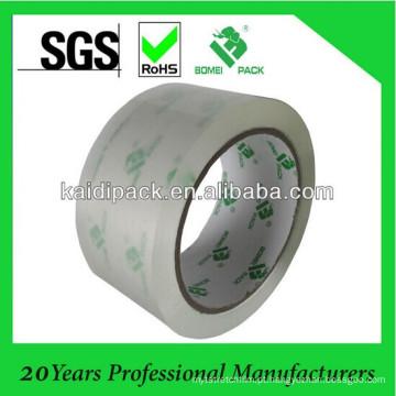 Fita de embalagem adesivo baixo ruído sem poluição sonora
