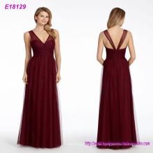 Groß-Mode-Klassiker Designs lange rückenfreie Abendkleid
