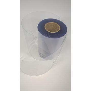 Feuille de plastique PVC transparent