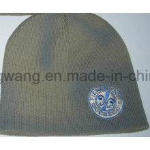 Invierno de acrílico impreso de punto de cráneo Hat / Cap, Beanie
