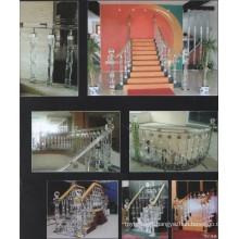 Hotel Crystal Corridor Decoration Guardrail (Factory Supply)