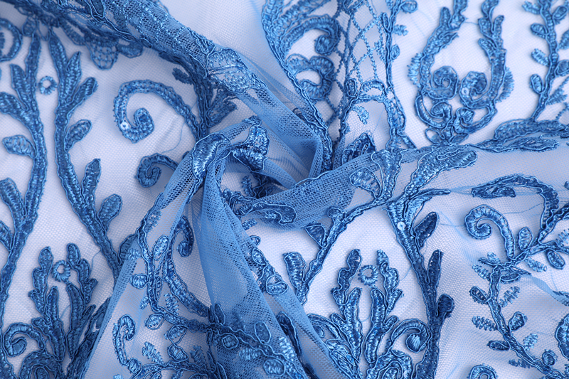 Cord Mesh Embroidery Fabric