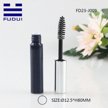 Custom spray black Mascara Tube with brush