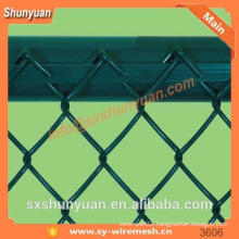 Chain link fence/galvanized fence netting/wire mesh fence(manufacturer)