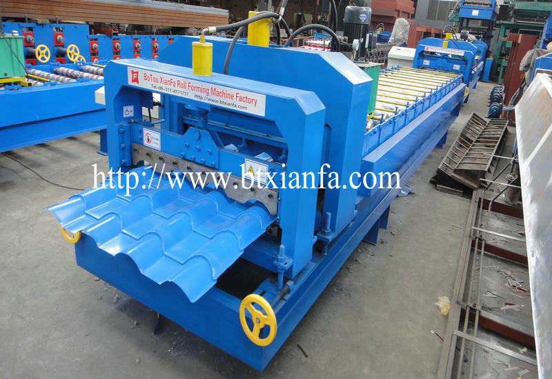 aluminium roof making machine 2