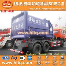 6X4 DONGFENG marca 210hp basura recogiendo la capacidad de camiones de 18 toneladas de alta calidad en China