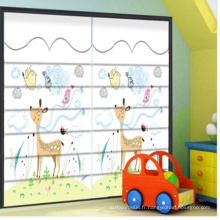 Impression animale fantaisie volet roman stores pour chambre des enfants