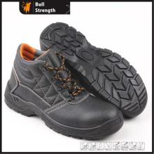 Industrial Leather Safety Shoes with Steel Toe and Steel Midsole (SN5323)